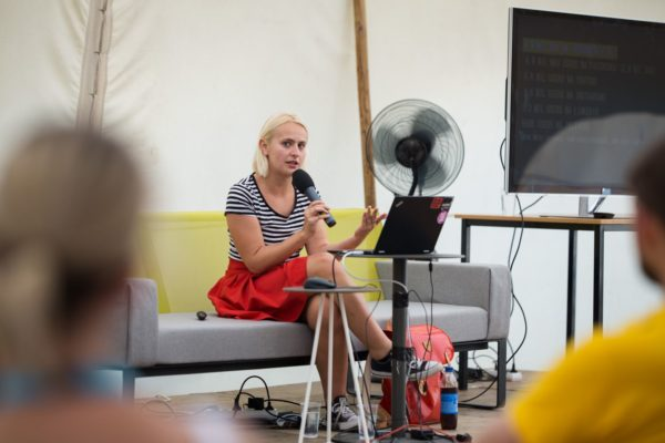 Odborný program stanu ČT: Česká na sockách - Lucie Macháčková