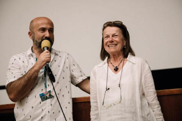 Foto:Tomáš Hejzlar, diskuze k filmu Pane vy jste vdova