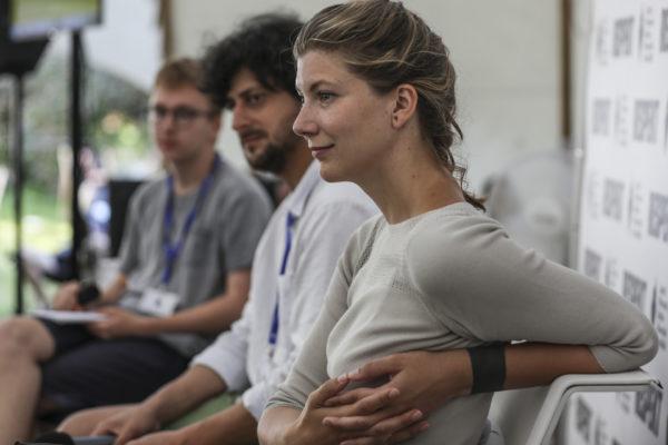 Na Letní filmové škole 11.srpna proběhla diskuze V Respekt stanu na téma Klima&Film Re-generace.