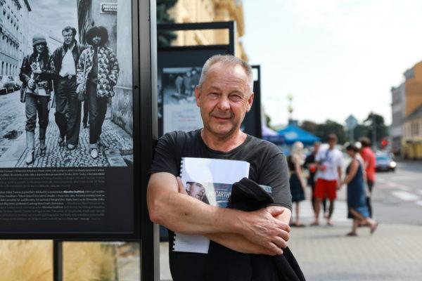 ČTK na Letní filmové škole natočila podcast. 11. srpna byl hostem režisér Václav Marhoul a otázky mu kladli novináři ČTK Zdeněk Fučík a Dominik Tománek.